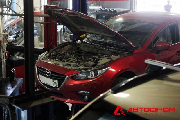 Диагностика, ремонт и обслуживание автомобилей Мазда