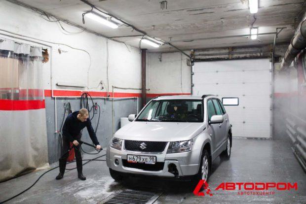 Подготовка автомобиля Сузуки к диагностике